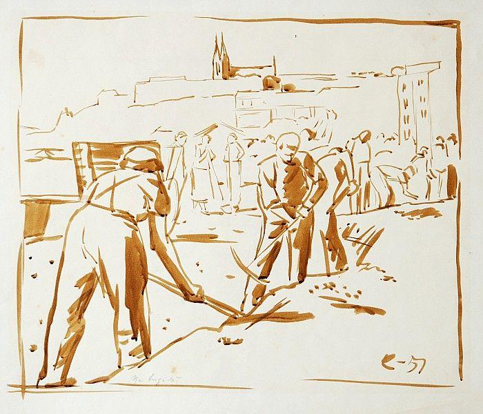 Jan Rambousek - Na brigádě (1951)
