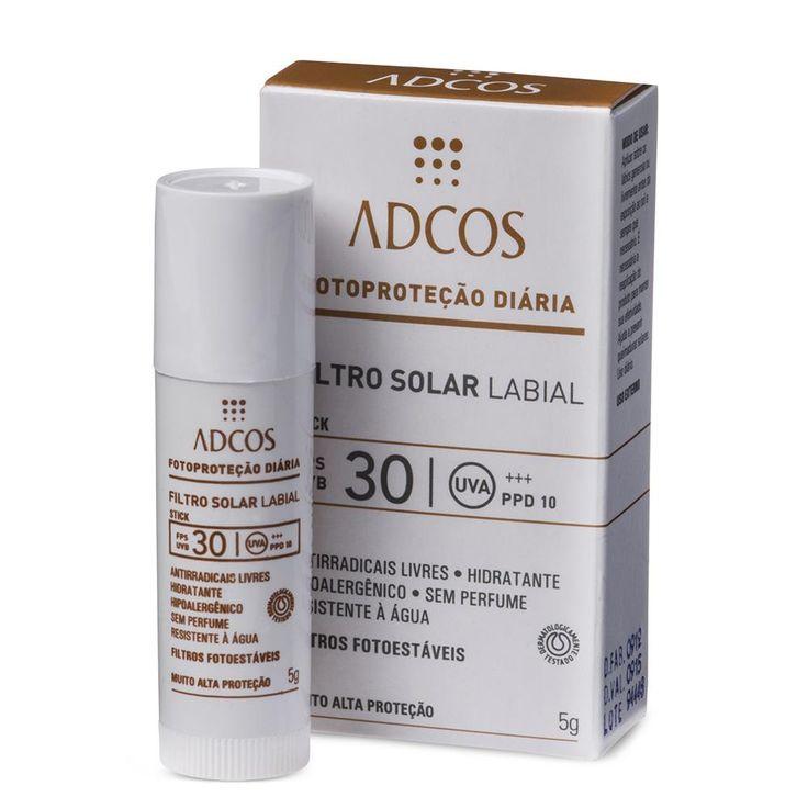 Filtro Solar Labial FPS 30 ADCOS.