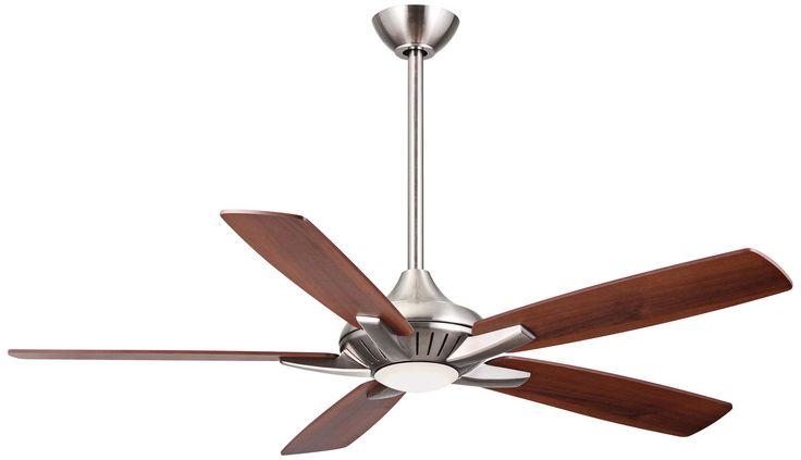 "52"" Minka Aire DYNO Brushed Nickel Ceiling Fan - #4N698   www.lampsplus.com"