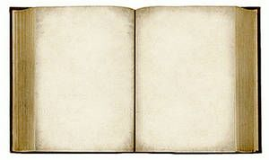 open bible clip art   Free Clipart Picture of an Open, Old Book With Blank Pages