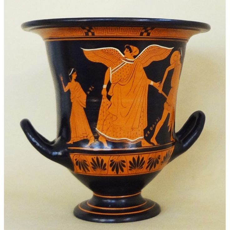 Red Figure Calyx Crater Odysseus And The Sirens