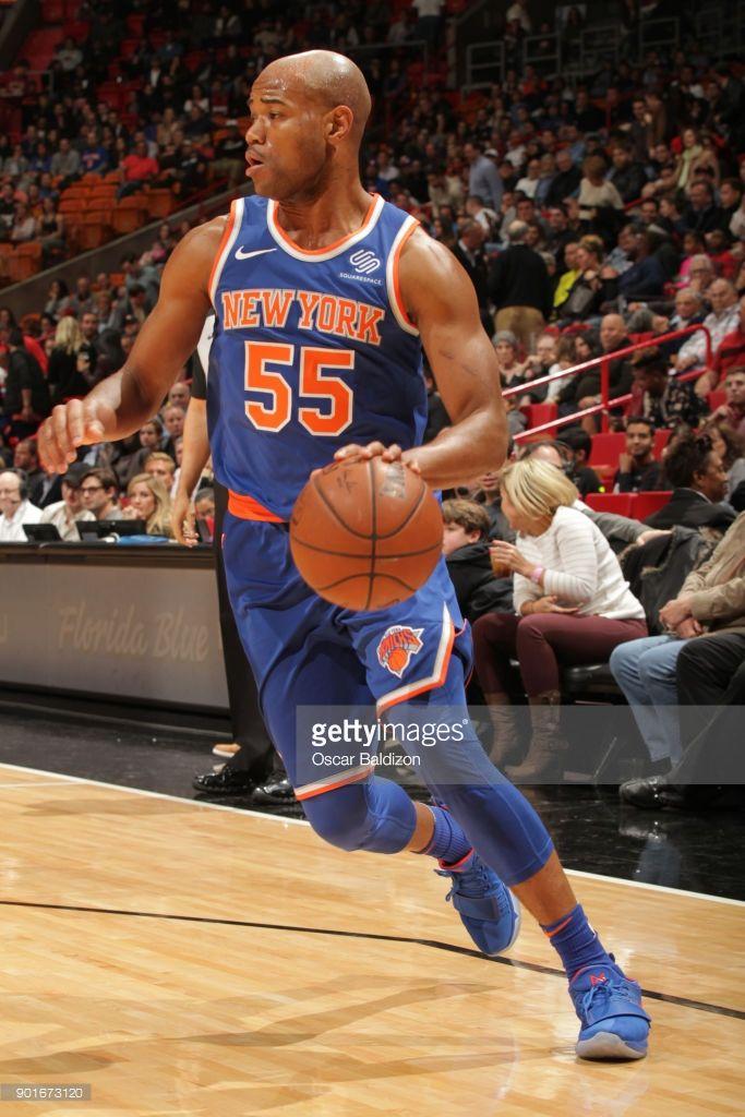 News Photo : Jarrett Jack of the New York Knicks jocks for a...