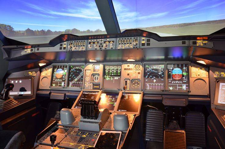 Simulator of the biggest airplane of the world!