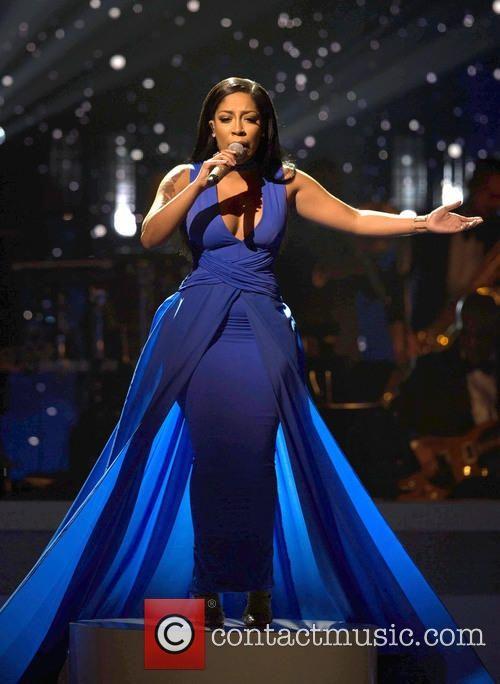 K michelle black dress blue