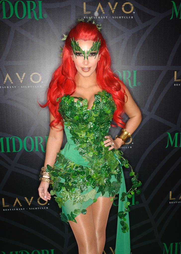 Pin for Later: Look Back at Kim Kardashian's Sexiest Halloween Costumes Poison Ivy