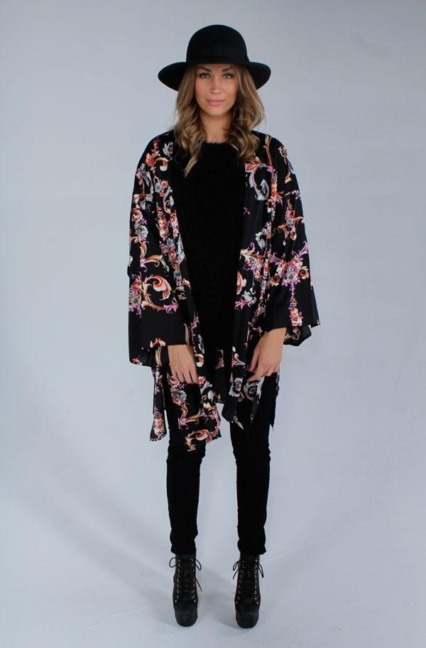 Mink Pink Melody Kimono