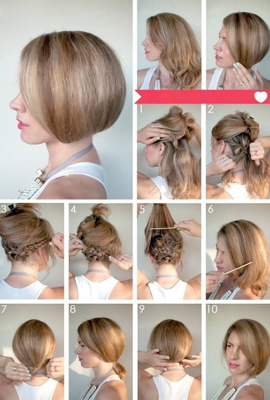 Top 10 Greatest Tutorials For Short Hair Haare