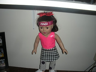 First attempt at duck tape doll clothes: shirt and skirt