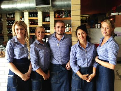 Best  Restaurant Uniforms Ideas On   Cafe Uniform