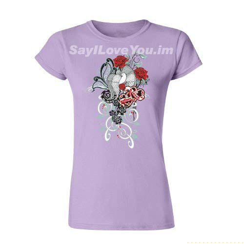 Camisetas de Mujer Románticos http://sayiloveyou.im/messages/gifts-for-her-girlfriend/ Romantic T-shirts @ SayILoveYou.im