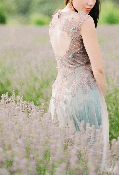 Euphemia #gown #low #back #wedding #dress by #VICTORIASPIRINA on Etsy