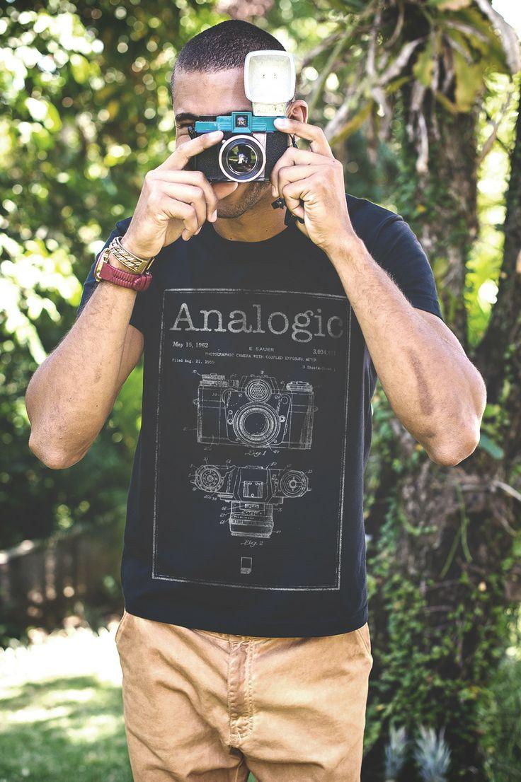 CÂMERA - Analogic love! #tshirt