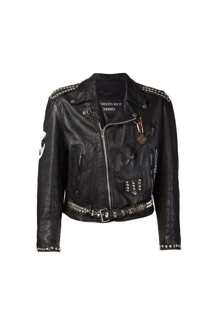 Leather jacket damage -  Enfants Riches Deprimes 01 Clothing 07 Outerwear 01 Jacket 02 Leather