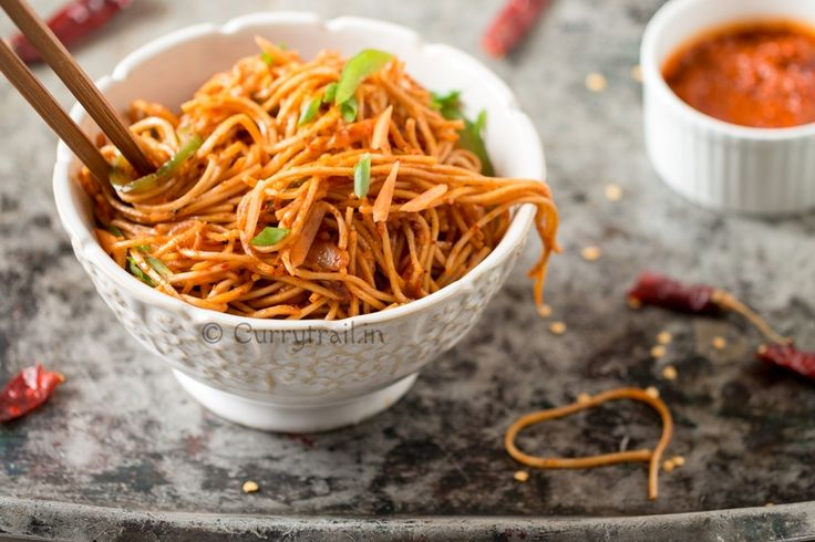 Schezwan noodles. Nothing can beat the taste of noodles cooked in spicy schezwan sauce. It's simple and very easy to make.