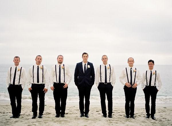 Black and white wedding!