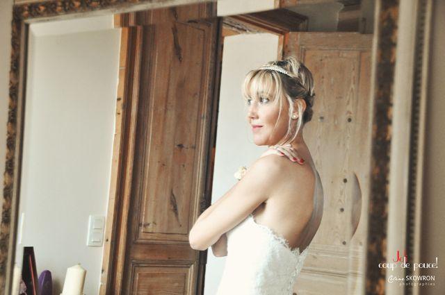 Mariage anglais - Garden party - Wedding planner Décoration Joli coup de pouce - Make-up Aude B Colrat - Photo Céline Skowron - Midi-Pyrénées
