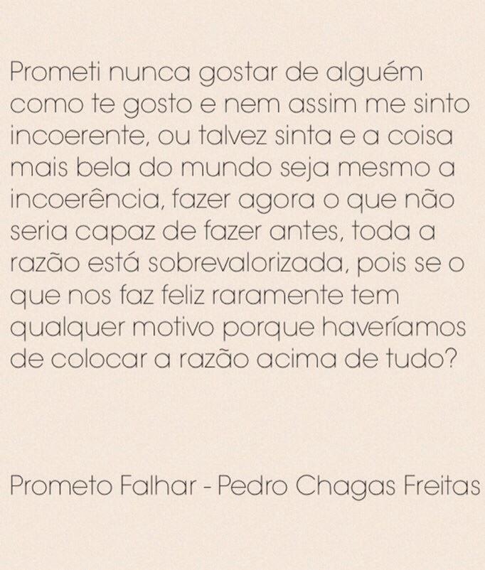 Prometo Falhar - Pedro Chagas Freitas