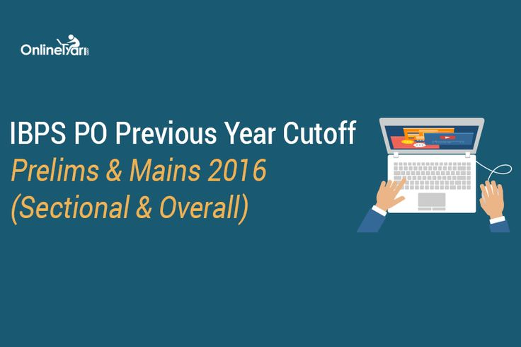#IBPSPO Previous Year Cutoff: Prelims & Mains 2016 (Sectional & Overall): https://buff.ly/2x8XNHu?utm_content=buffer65905&utm_medium=social&utm_source=pinterest.com&utm_campaign=buffer #IBPSPOexam #onlinetyari