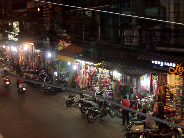 #hanoi night market