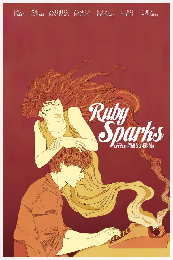 Ruby Sparks Poster by trojan-rabbit.deviantart.com on @deviantART