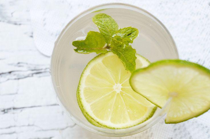Refreshing OCOCO and lemon Water