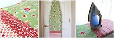 Ironing board cover - I so need a new one! #tutorial