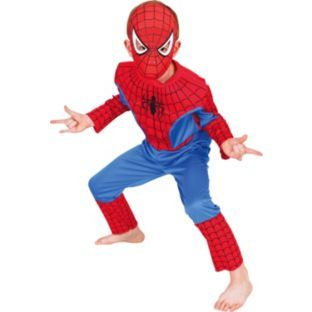 Buy Spider-Man Dress Up Costume - 3 - 5 Years at Argos.co.uk - Your Online Shop for Children's fancy dress costumes, Marvel fancy dress.