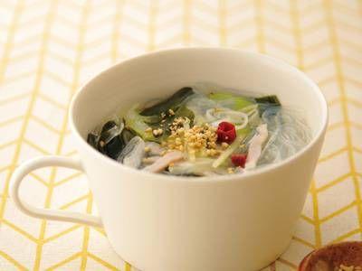 春雨とわかめのピリ辛スープレシピ 講師は平山 由香さん|使える料理レシピ集 みんなのきょうの料理 NHKエデュケーショナル