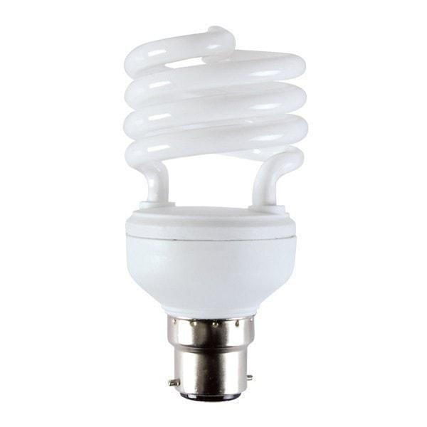 10 Watt Dc 12v Cfl Bc Bayonet Light Bulb Cool Or Warm White B22 Compact Fluorescent Lamp Lowvolta Low Energy Light Bulbs Light Bulb Compact Fluorescent Lamps