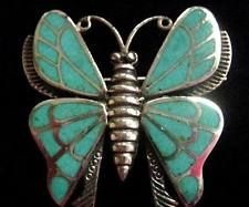 Sterling Silver and Turquoise Butterfly