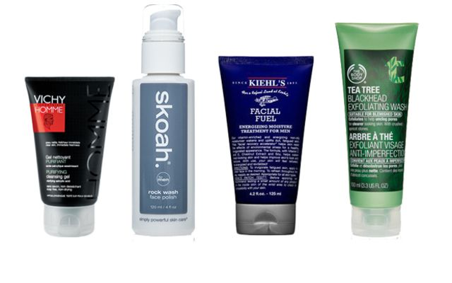 Fave men's skincare products from Skoah, The Body Shop, Kiehl's, Kiss My Face and Jack Black