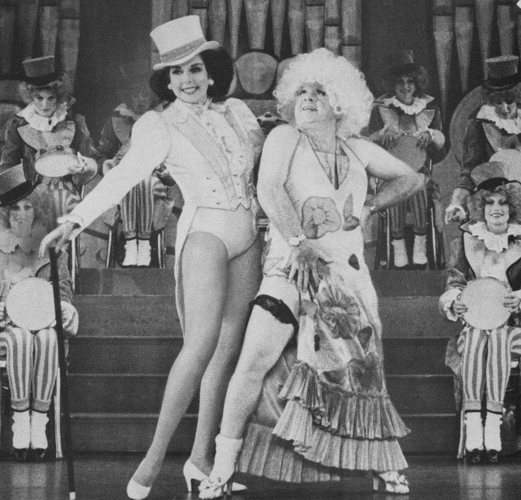 Ann Miller and a crossdressing Mickey Rooney