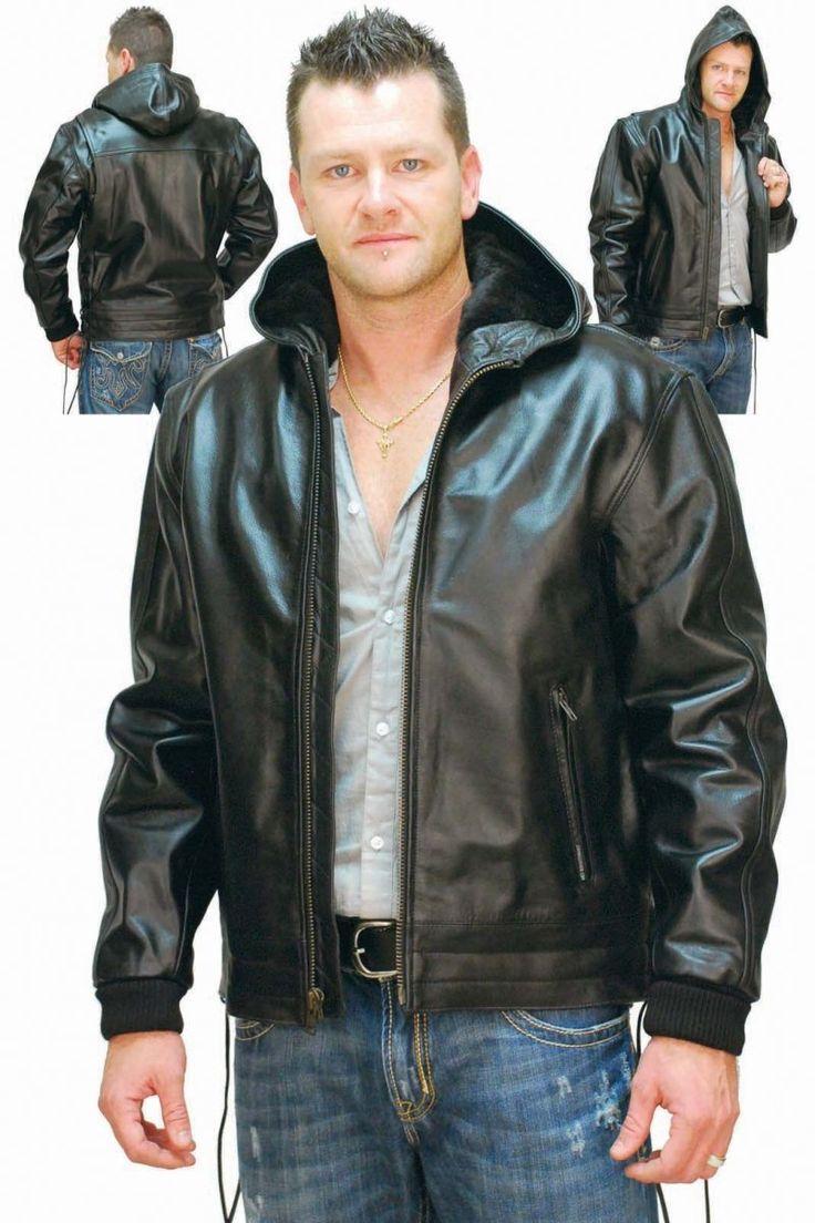 1000  images about Celebrity Men Leather Jackets on Pinterest