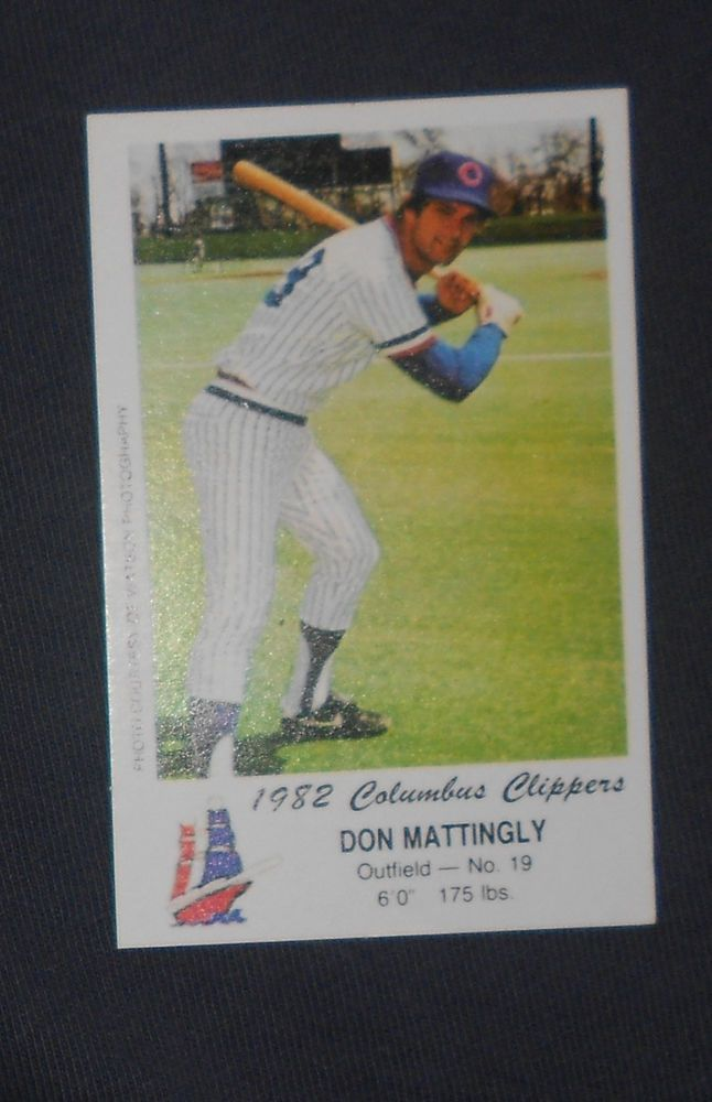 Lot Detail - Tough 1982 Police Columbus Clippers Don