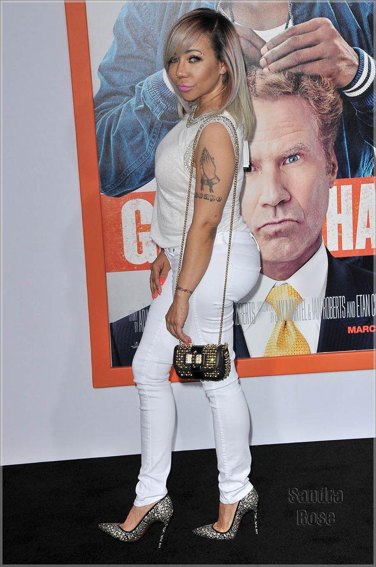 Tameka Harris at Get Hard premiere