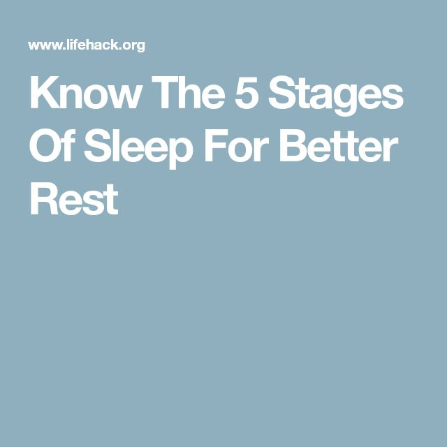 Know The 5 Stages Of Sleep For Better Rest