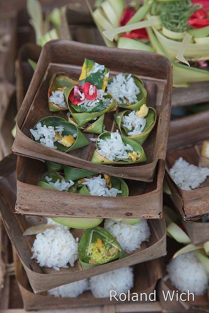 Bali - Temple Offerings