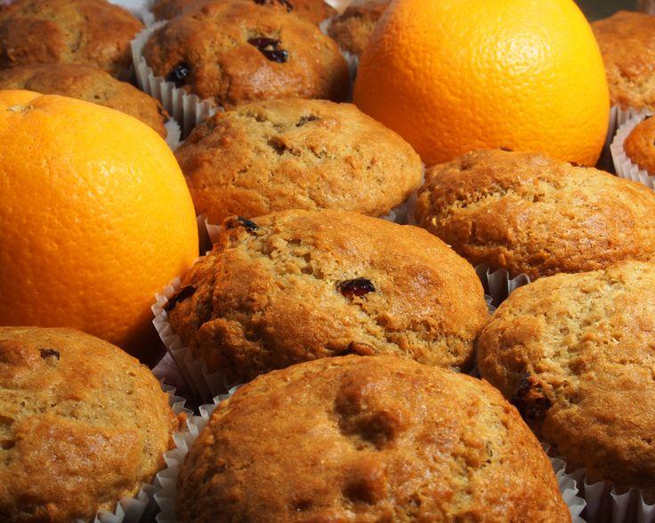 Recette de muffins à l'orange et aux canneberges