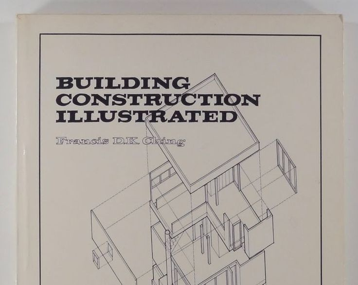 1975 Francis DK Ching BUILDING CONSTRUCTION ILLUSTRATED architecture DESIGN pb