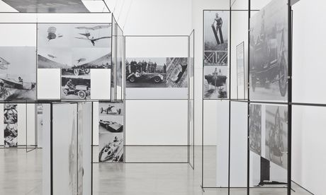 Part of the installation Man, Machine And Motion (1955), by Richard Hamilton, at the ICA, London
