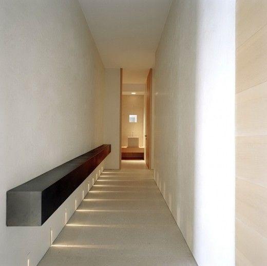 *architecture, modern interiors, minimalism, corridors* - P Penthouse in Montecarlo by Claudio Silvestrin