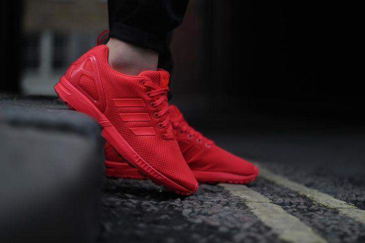 http://www.landaustore.co.uk/blog/wp-content/uploads/2016/05/Adidas-flux-triple-red-1024x683.jpg  Adidas ZX Flux Triple Red Trainers for Men  http://www.landaustore.co.uk/blog/footwear/adidas-zx-flux-triple-red-trainers-men/