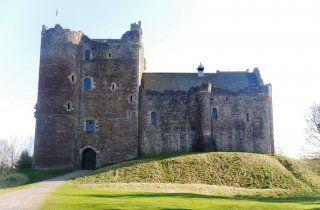 Chateau de Doune, Perthshire, Ecosse