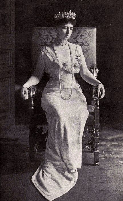 Queen Sophie of the Hellenes. Early 1910s...