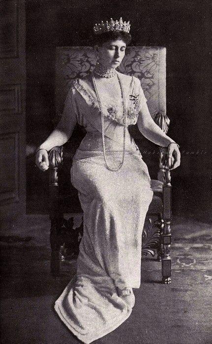 Queen Sophie of the Hellenes. Early 1910s...