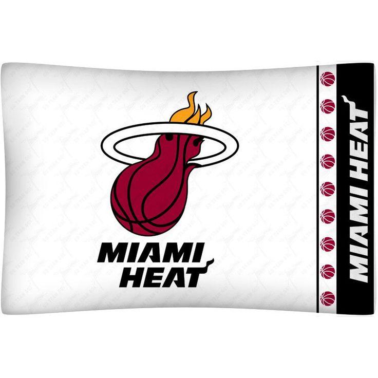 Miami Heat Team Logo Pillowcase