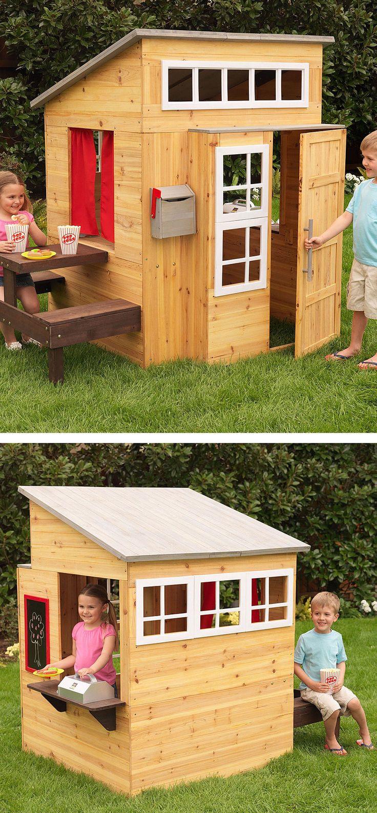 Modern Outdoor Playhouse