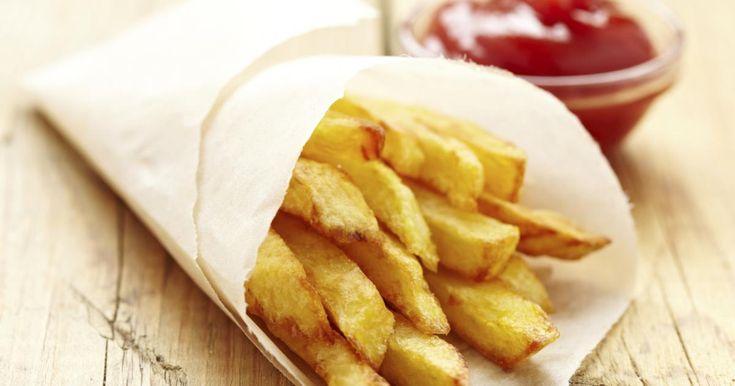 """Diaporama """"Frites : les règles d'or pour faire de bonnes frites maison"""" - La cuisson des frites"""