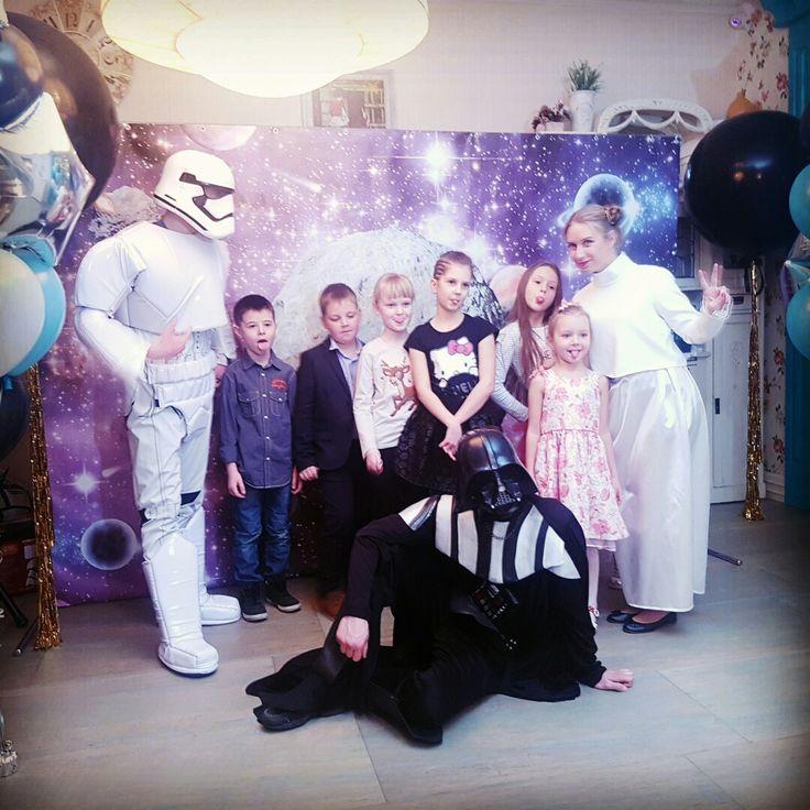#Звездныевойны - детский #праздник в стиле #Звездныевойны. www.kids-prazdnik.com.ua