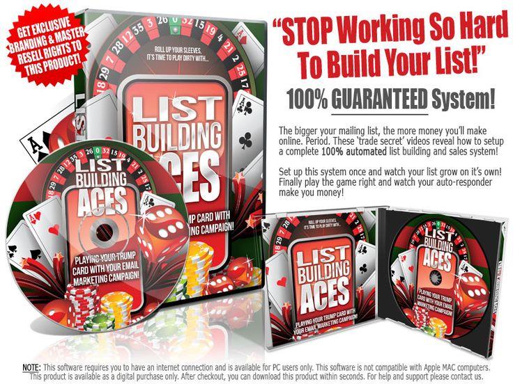 List Building Aces http://www.resellrightsninja.biz/resellrightsninja/